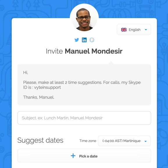 best-doodle-alternative-vyte-personal-scheduling-page-meetme